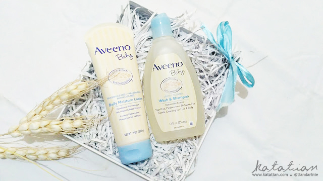 review aveeno skincare bayi