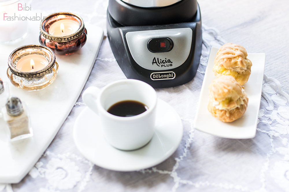 But first Coffee DeLonghi Alicia