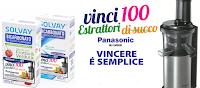 Logo Con Solvay vinci 100 estrattori di succo Panasonic