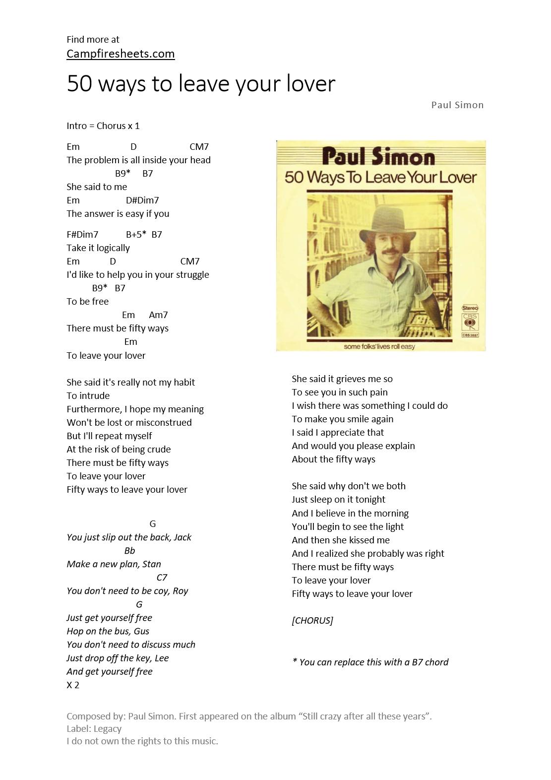 Outstanding Paul Simon Chords Embellishment Beginner Guitar Piano