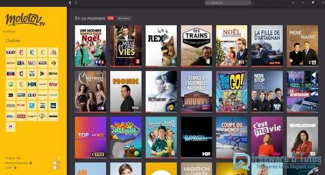 Molotov.tv : une nouvelle façon de regarder la TV sur PC, tablette, etc