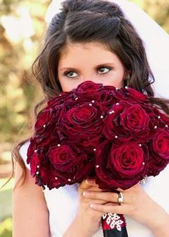 Bouquets y Ramos de Bodas Color Rojo, parte 1
