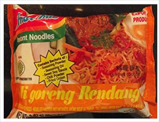 Indomie Mi Goreng Rendang Instant Noodles Indonesia