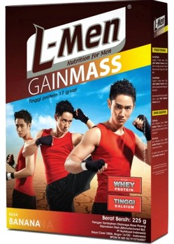 Harga Susu L-Men gain mass