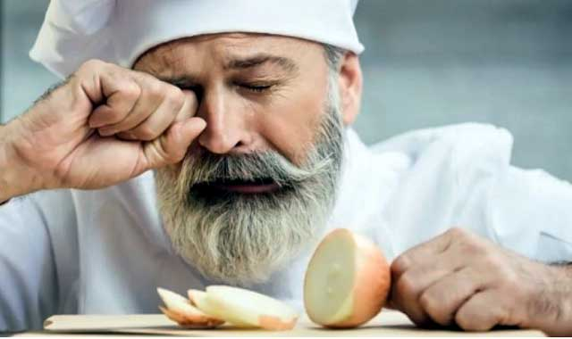 If you do not want water in the eyes, how to cut onions?