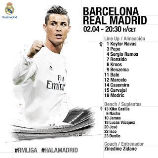 مباشر برشلونة و ريال مدريد + القنوات الناقلة + المعلقين +تشكيل الفريقين barca vs real madrid