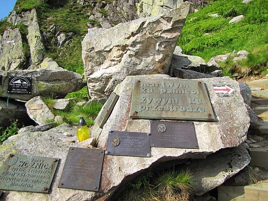 Symboliczny Cmentarz Ofiar Gór.