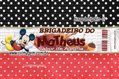 #bisnagadebrigadeiro #mickey  #svimagem #personalizado #chocolate