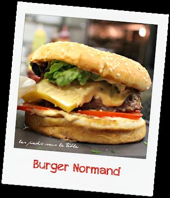 Recette du Burger Normand