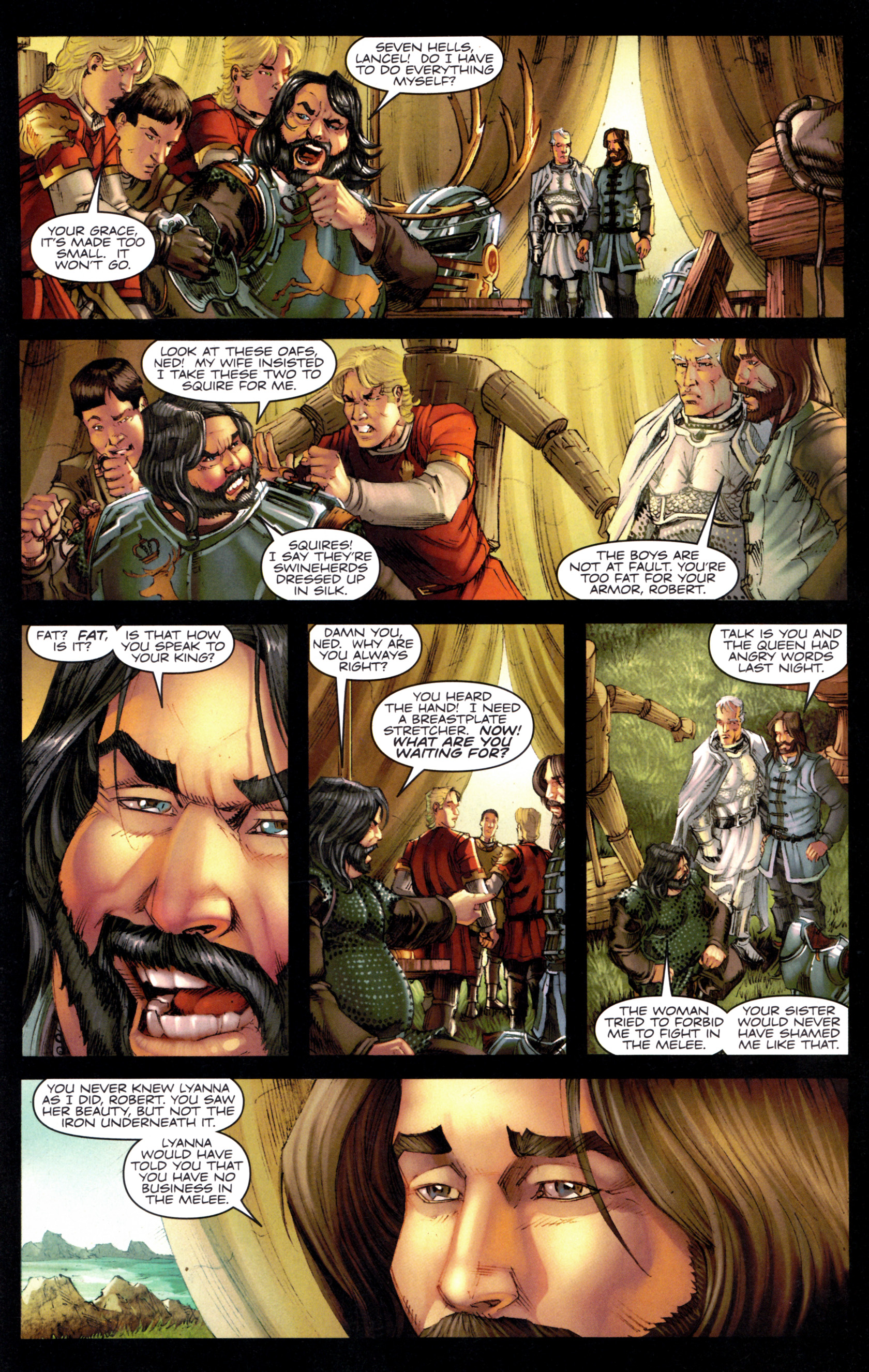 Read online A Game Of Thrones comic -  Issue #9 - 21