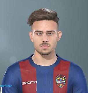 PES 2019 Faces Roger Martínez by Lucas Facemaker
