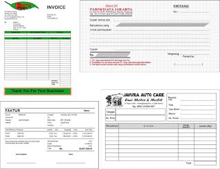 Tempat Percetakan Nota, Faktur, Invoice Di Bengkulu