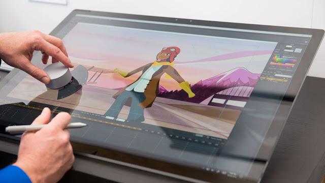 Microsoft lanza la impresionante Surface Studio