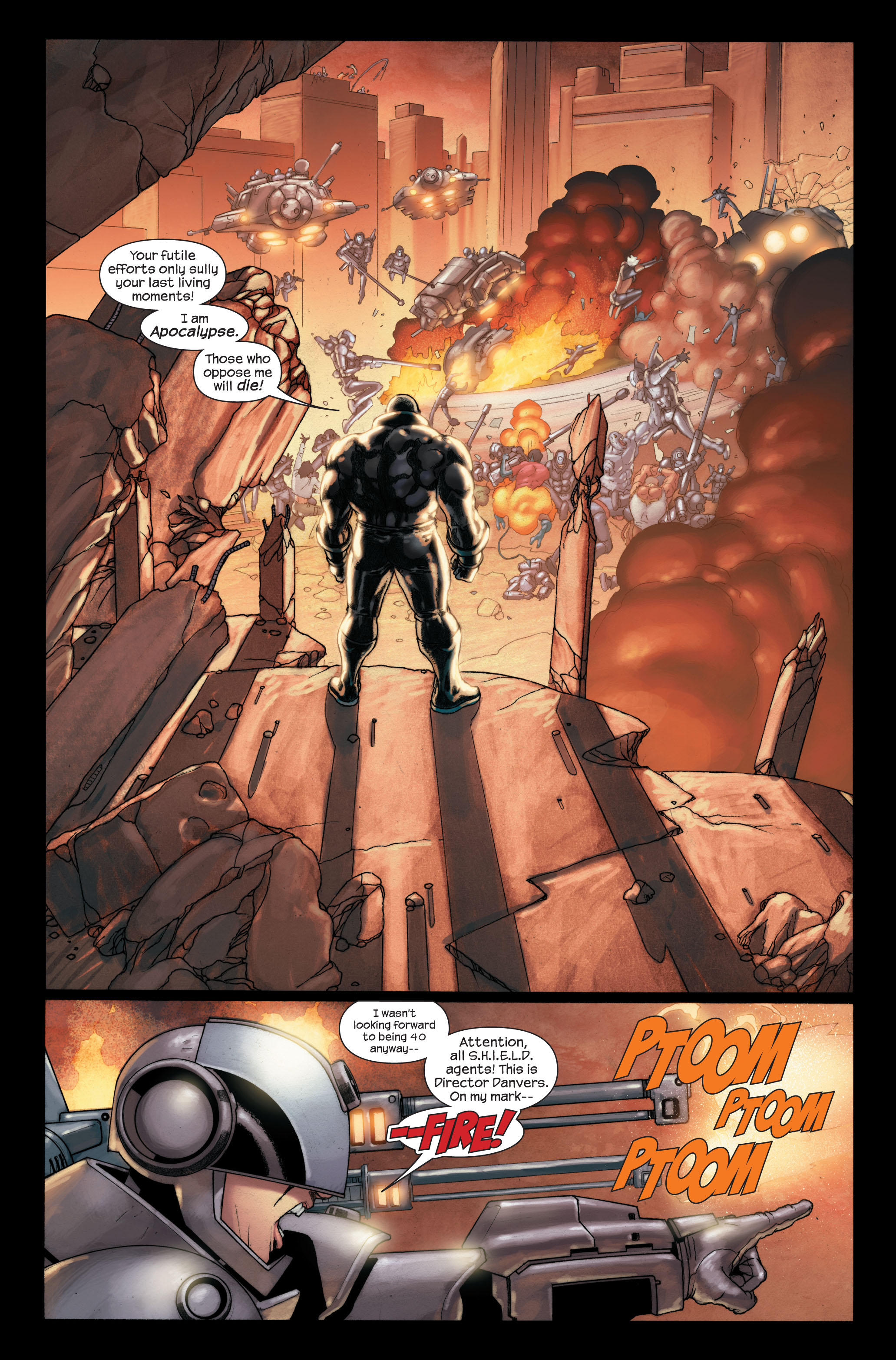 Read online Ultimate X-Men comic -  Issue #91 - 19