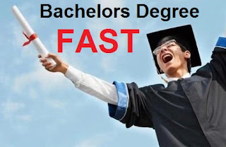 how to get a bachelor's degree fast