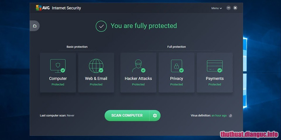 Download AVG Internet Security 18.5.3059 Full Serial