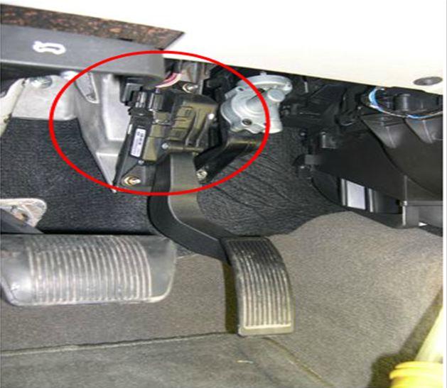 P2166, P2167 Accelerator Pedal Position Sensor 1 and 2