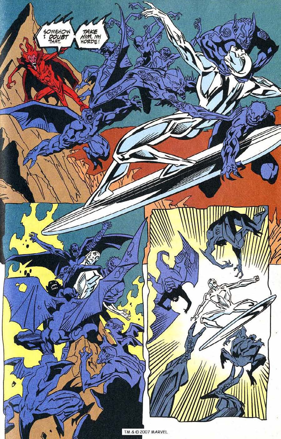 Read online Silver Surfer (1987) comic -  Issue #100 - 35