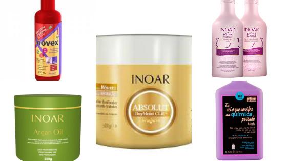 produtos low poo cabelos com progressiva