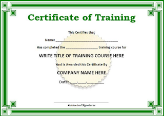 Dalam setiap training tentunya ada hal penting yang patut dan wajib kiranya diberikan kep Sertifikat Guru Pembelajar