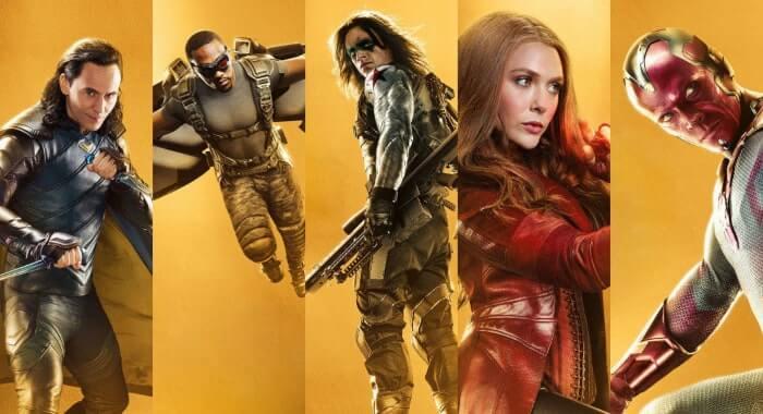 Serial Marvel yang akan dihadirkan di Disney Plus