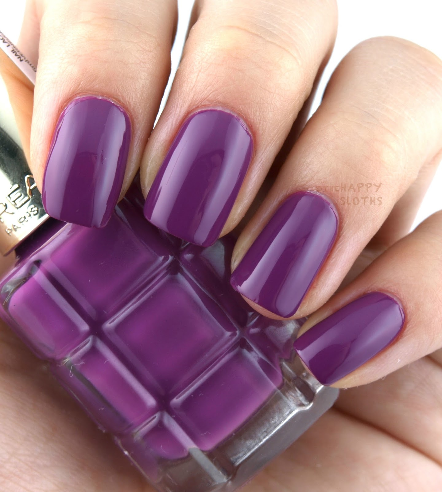 L\'Oreal Color Riche Le Vernis L\'Huile Nail Polish: Review and ...
