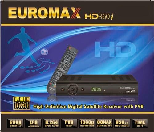 Euromax 360i HD Digital Receiver Software All Version | URDU OK