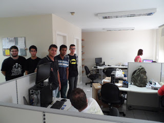Visita à empresa Wareline em Campinas/SP