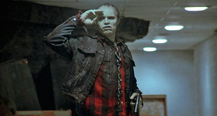 Sherman Howard als Bub in DAY OF THE DEAD (1985). Quelle: Screenshot Arrow Video Blu-ray (skaliert)