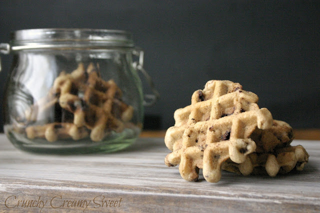 waffle+CCC+4 CCC Monday: Waffle Chocolate Chunk Cookies