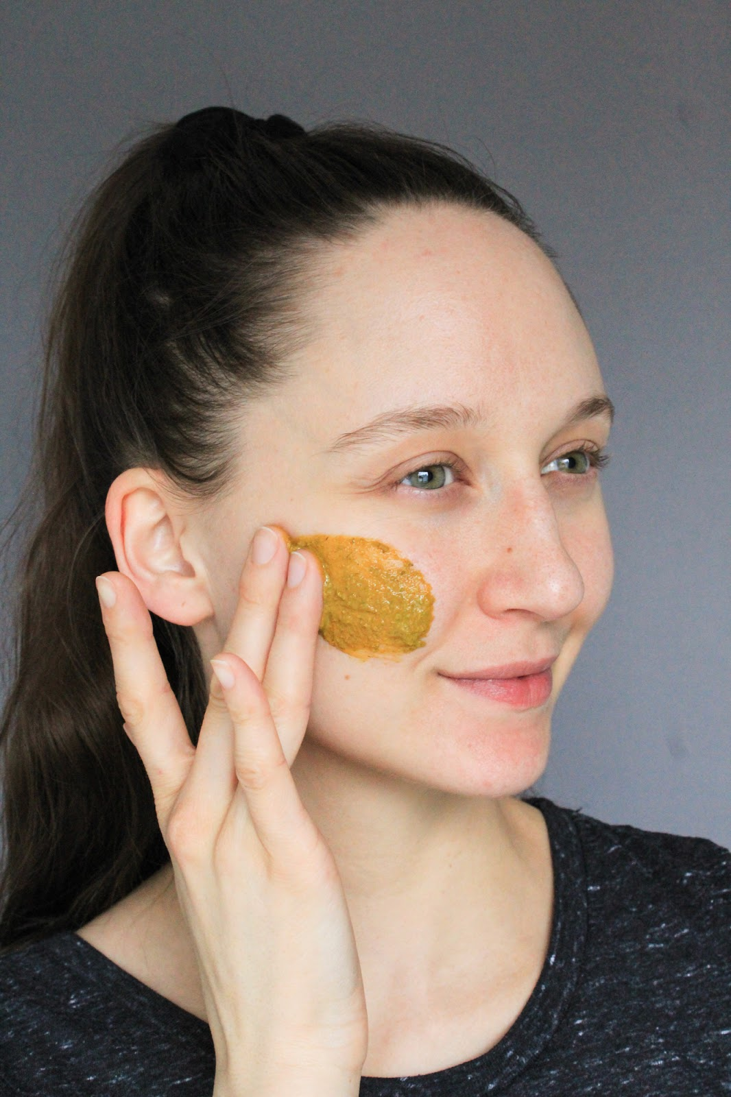 Earthwise Beauty Sungod Face Mask. Organic, natural, masking selfie, no makeup