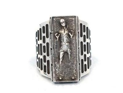 Han Solo Frozen Ring