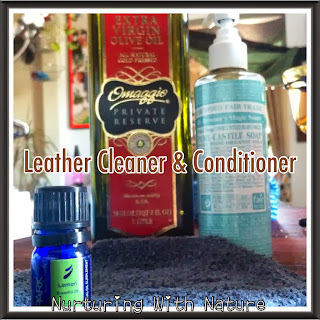 Nurturing With Nature Natural Leather Cleaning Amp Conditioning