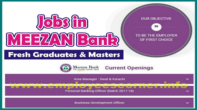 Jobs in Meezan Bank Limited Jobs 2017