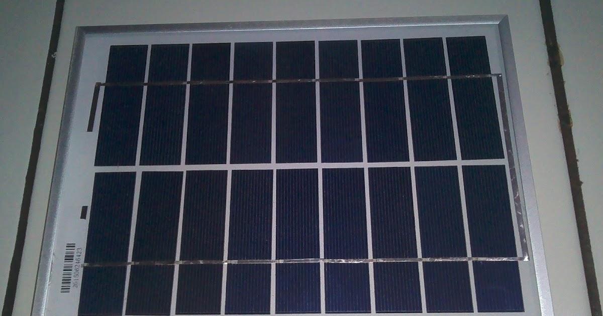 Hobby Electronic Membuat Charger Hp Dengan Solar Cell