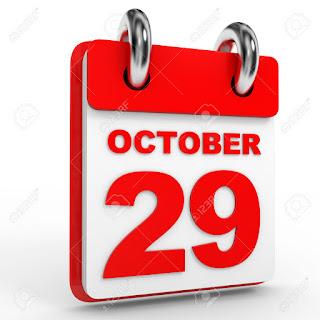 Peristiwa dan Kejadian Penting Tanggal 29 Oktober