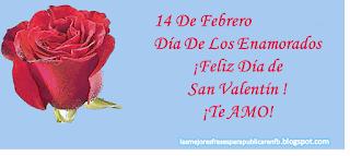 Frases De San Valentín: 14 De Febrero Día De Los Enamorados Feliz Día De San Valentín Te AMO