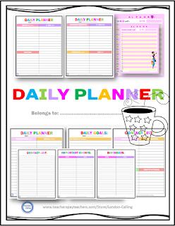 https://www.teacherspayteachers.com/Product/FREE-Daily-Planner-2964974