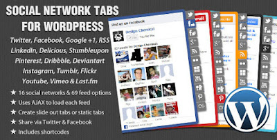 Codecanyon – Social Network Tabs For WordPress v1.7.2
