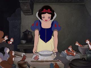 snow white baking pie