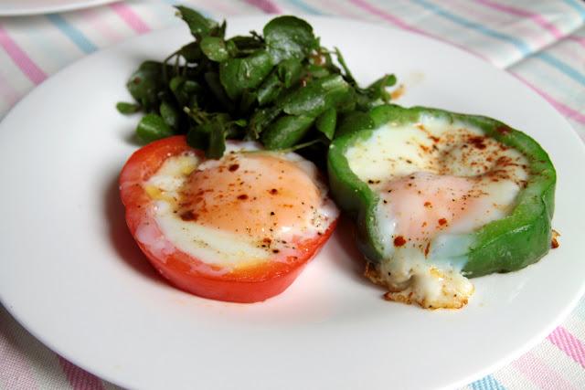 Jajka sadzone w ramce