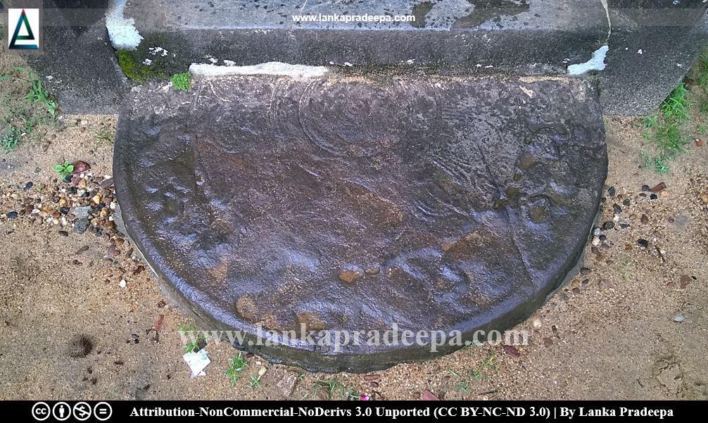 Sandakada Pahana, Aramanapola Viharaya