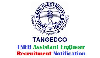 TNEB Asst Engineer (Vacancy 325) Notification 14.02.2018, BE EEE, ECE, EIE, CSE, IT, CIVIL Can Apply Online