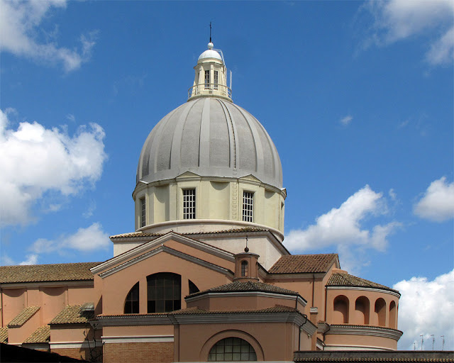 Dome of the church of San Francesco Saverio alla Garbatella, Garbatella, Rome