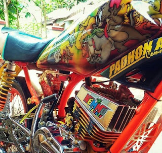 custom mesin Yamaha RX King