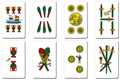 Sicilia terre d 39 occidente le carte da gioco siciliane for Due di bastoni carte napoletane
