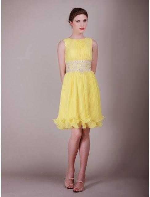 Raining Blossoms Bridesmaid Dresses: Gorgeous Bright ...