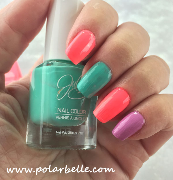 Polarbelle: JulieG Nail Polish Spring Trio Special For Jesse\'s Girl ...