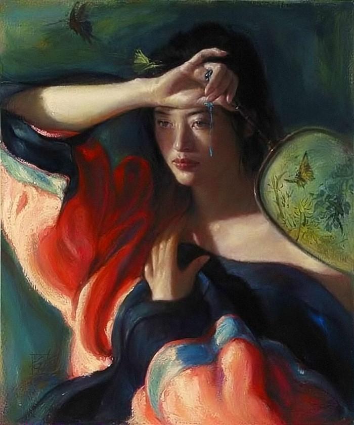 Работы в духе классического романтизма. George Tsui 7