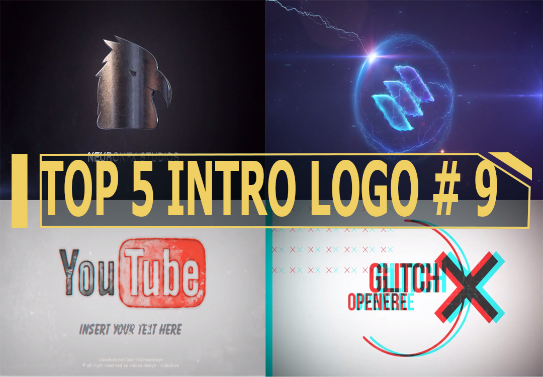 TOP 5 Intro Logo Free Download # 9 | After Effects Templates | After